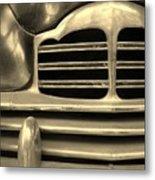 Detail Of An Old Car Metal Print
