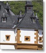 Detail Of Burg Pfalzgrafenstein Metal Print
