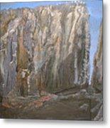 Detail Of Landscape 1/3 Metal Print