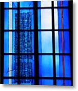 Detail Of Modern Johannes Schreiter Window Mainz 1 Metal Print
