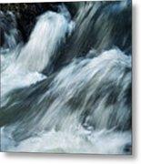 Detail Of Wild Rapid Water Metal Print