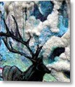 Detail Of Winter Metal Print by Kimberly Simon
