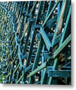 Detail View Of The Kinsol Trestle Metal Print