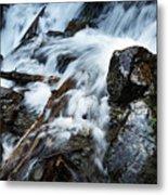 Detail Wild Stream Metal Print