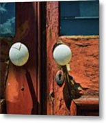 Details From The Past Metal Print