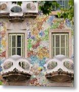Details Of Casa Batllo In Barcelona 2, Spain Metal Print
