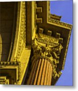 Details Palace Of Fine Arts Metal Print