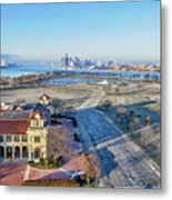 Detroit  A New Day A New Year Metal Print