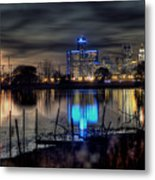 Detroit Reflections Metal Print