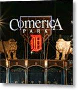 Detroit Tigers - Comerica Park Metal Print by Gordon Dean II