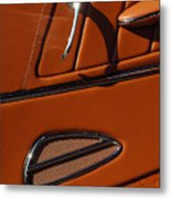 Deucenberg Hot Rod Interior Door Metal Print