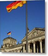 Deutscher Bundestag Metal Print