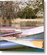 Deux Canoes Metal Print