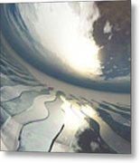 Deviating World Metal Print