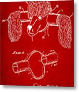 Device For Protecting Animal Ears Patent Drawing 1k Metal Print