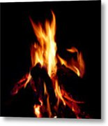 Devil Fire Metal Print