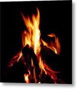 Devil Fire Metal Print