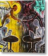 Devil In The Cafe Metal Print