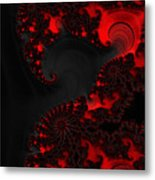Devil Light   A Fractal Abstract Metal Print
