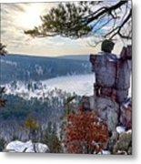 Devil's Doorway Metal Print