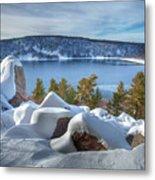 Devils Lake Metal Print