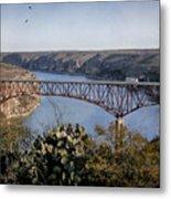 Devils River Hi Bridge Metal Print