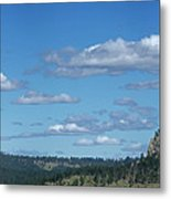 Devils Tower And The Missouri Hills Metal Print