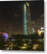 Devon Tower Okc Metal Print