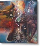 Dharma Of The Sleeper Yo-yo Metal Print