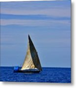 Dhow On The Indian Ocean Metal Print