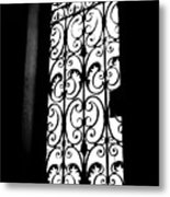 Dia Window Metal Print