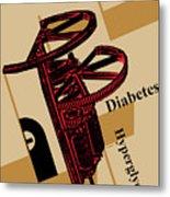 Diabetes No. I Metal Print