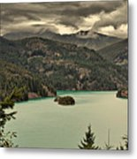 Diablo Lake - Le Grand Seigneur Of North Cascades National Park Wa Usa Metal Print