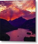 Diablo Lake, United States Metal Print