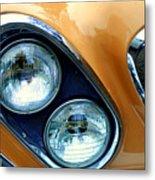 Diagonal Headlights Metal Print