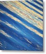 Diagonal Waters Metal Print