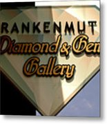 Diamond And Gem Gallery Metal Print