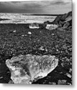 Diamond Beach Metal Print