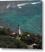 Diamond Head Lighthouse I Metal Print