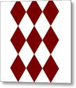 Diamond Poker Card Game Symbol Abstract Modern Art On T-shirts N Pod Navinjoshi Fineartameririca Metal Print
