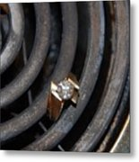 Diamond Rings Metal Print