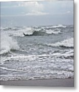 Diamond Shoals - Outer Banks Nc Metal Print