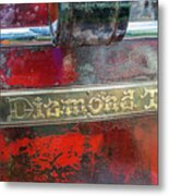 Diamond T Metal Print