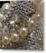 Diamonds And Pearls 2 Metal Print