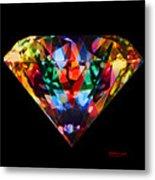 Diamonds Everywhere Metal Print