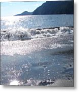 Diamonds In The Sand Metal Print