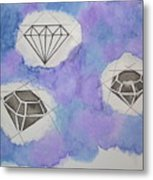 Diamonds In The Sky  Metal Print