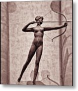 Diana - Goddess Of Hunt Metal Print