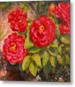 Diane's Roses Metal Print