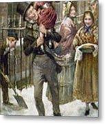 Dickens: A Christmas Carol Metal Print